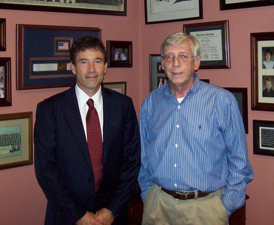Bill White and Sen. Troy Balderson