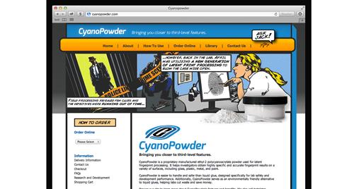 CyanoPowder Website