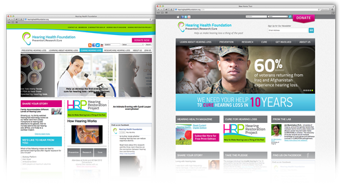 Hearing Health Foundation Website
